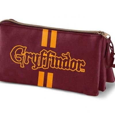 Harry potter gryffindor oxford style trousse 23x11x10cm