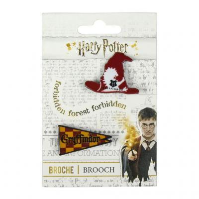 Harry potter gryffondor broches