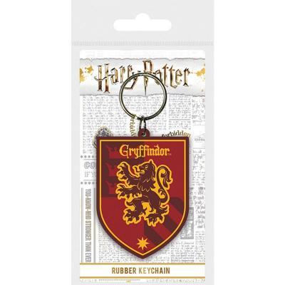 Harry potter gryffondor porte cles caoutchouc