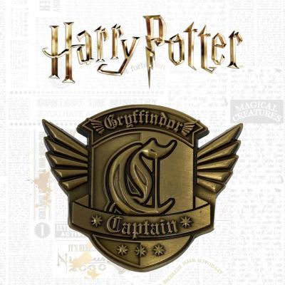 Harry potter gryffondor quidditch medaillon edition limitee