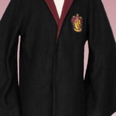 Harry potter gryffondor robe de sorcier peignoir adulte