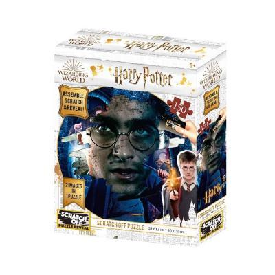 Harry potter harry scratch puzzle 150p 46x31cm
