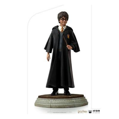 Harry potter harry statuette art scale 17cm