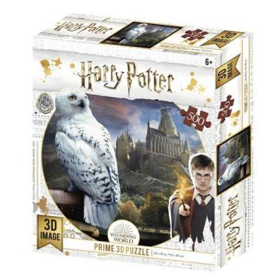 Harry potter hedwige puzzle lenticulaire 3d 500p 61x46cm