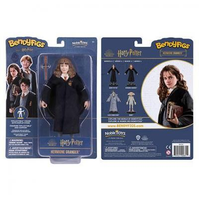 Harry potter hermione figurine bendyfigs avec support