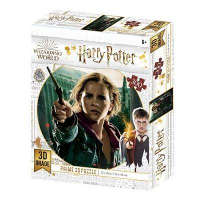 Harry potter hermione puzzle lenticulaire 3d 300p 46x31cm