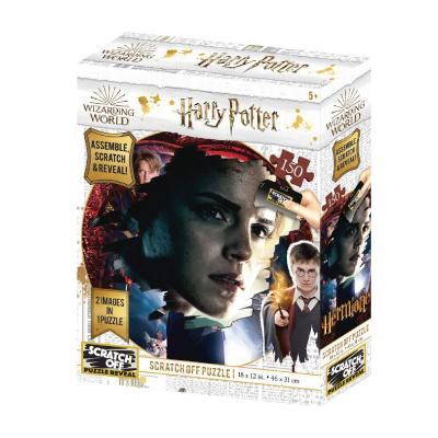 Harry potter hermione scratch puzzle 150p 46x31cm
