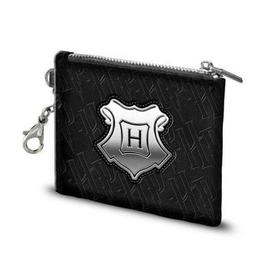 Harry potter hogwarts black porte cartes 10 5x8 5x0 5cm