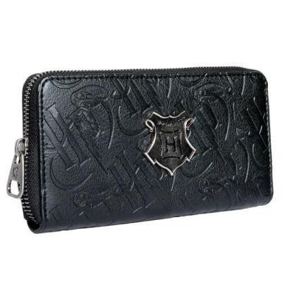 Harry potter hogwarts black portefeuille 19x10x2 5cm