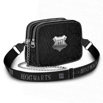Harry potter hogwarts black sac 20x14x8 5cm