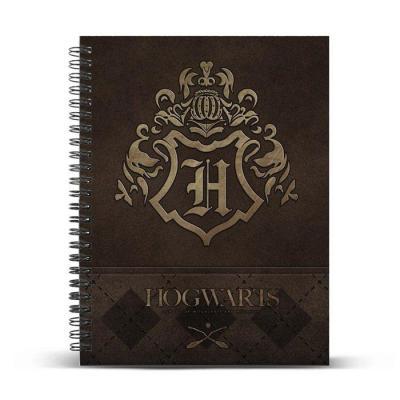 HARRY POTTER - Hogwarts - Cahier A4 '23.5x30x1.5cm'