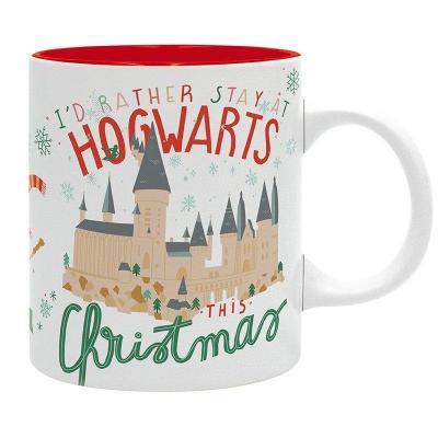 Harry potter hogwarts christmas mug 320ml