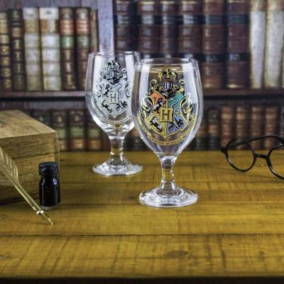 Harry potter hogwarts colour change glass