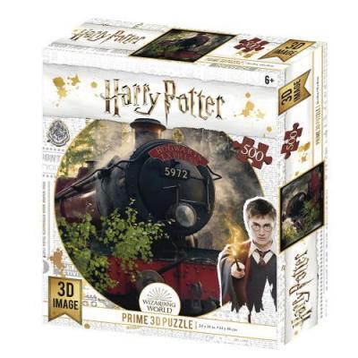 Harry potter hogwarts exp puzzle lenticulaire 3d 500p 61x46cm