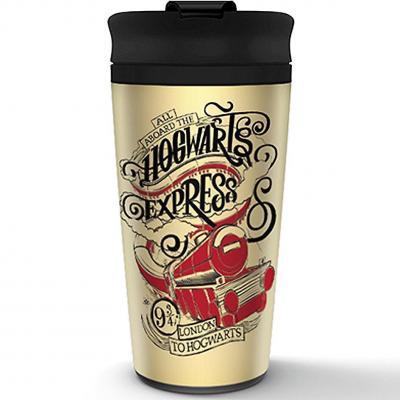 Harry potter hogwarts express mug de voyage en metal 450ml 1