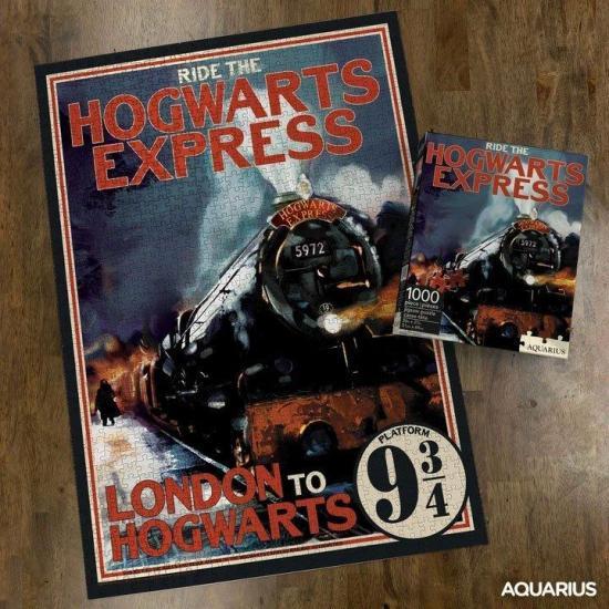 Harry potter hogwarts express puzzle 1000p
