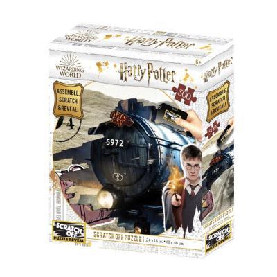Harry potter hogwarts express scratch puzzle 500p 61x46cm