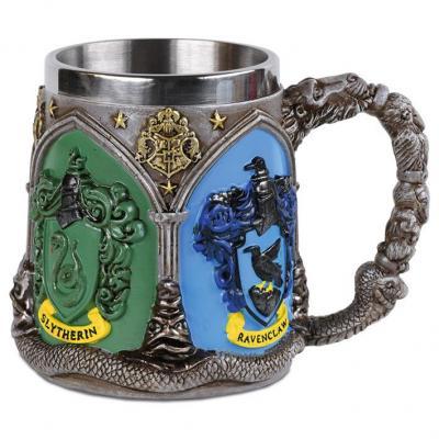 Harry potter hogwarts houses mug polyresin 350ml