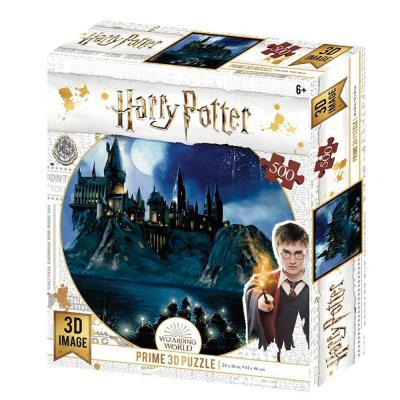 Harry potter hogwarts puzzle lenticulaire 3d 500p 61x46cm