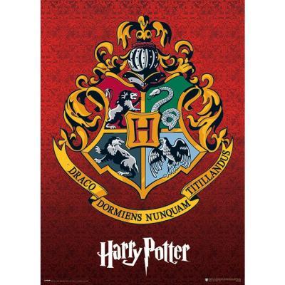 Harry potter hogwarts school crest poster 61x91cm 1