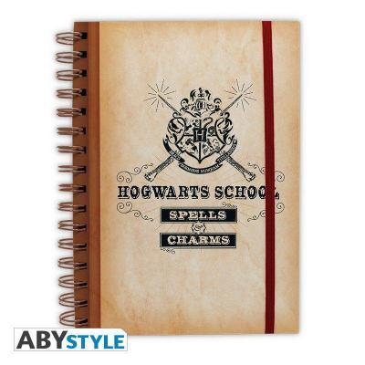 Harry potter hogwarts school notebook a5