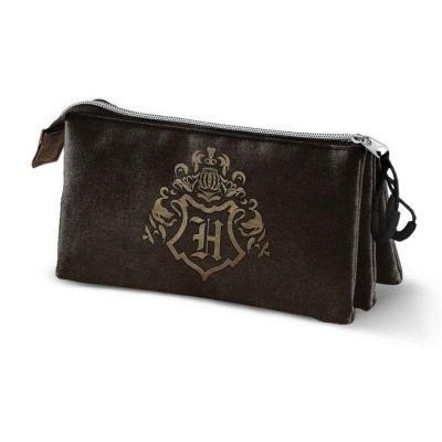 Harry potter hogwarts trousse triple 23x10x5cm