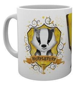 Harry potter hufflepuff paint mug 315ml
