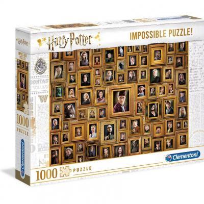 Harry potter impossible portraits puzzle 1000p