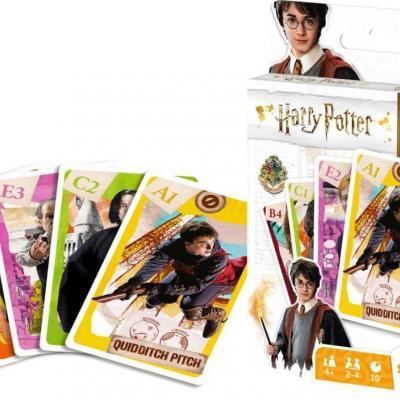 Harry potter jeu de cartes 4 en 1