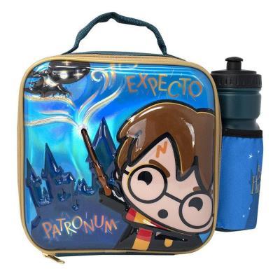 Harry potter kawaii lunchbag avec bouteille