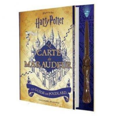 Harry potter la carte du maraudeur le guide de poudlard