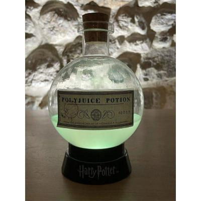 Harry potter lampe potion polynectar 20cm