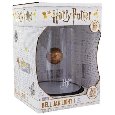 Harry potter lampe vif d or sous cloche