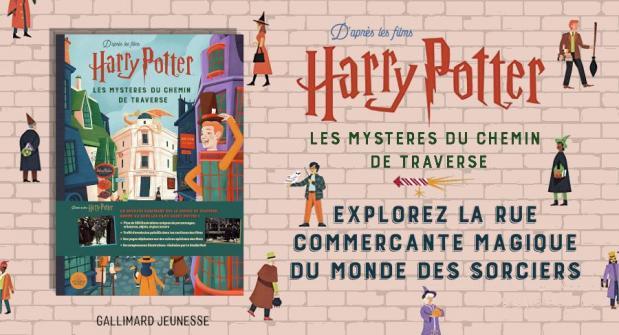 Harry potter les mysteres du chemin de traverse 1