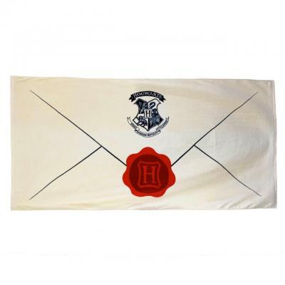 Harry potter lettre d acceptation serviette de bain 75x150cm