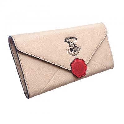 Harry potter lettre de poudlard portefeuille