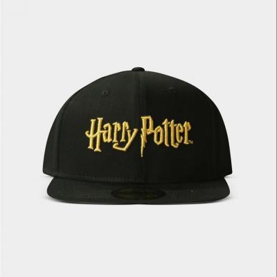 Harry potter logo gold casquette snapback