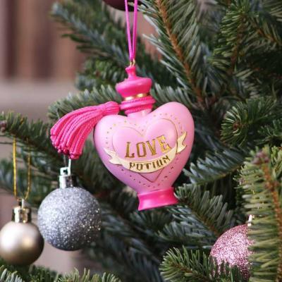 Harry potter love potion decoration de noel 9cm