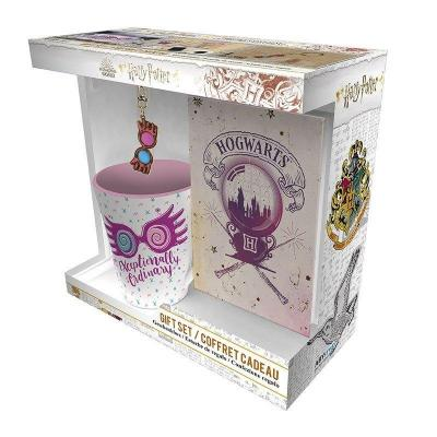 Harry potter luna lovegood pack mug porte cles carnet a6