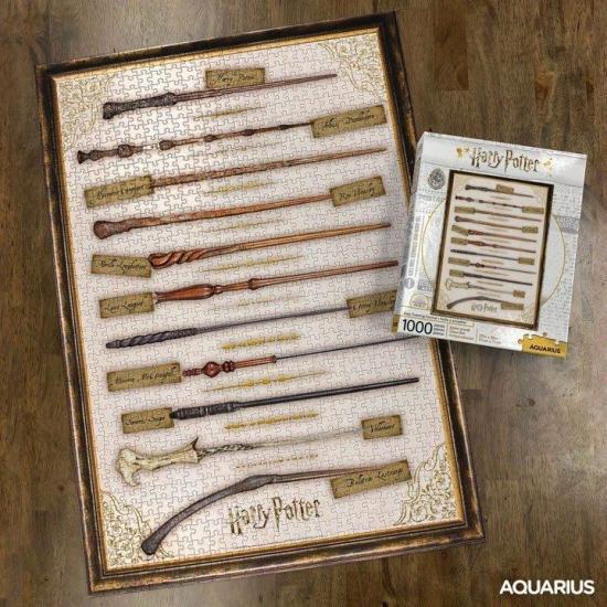 Harry potter magic wands puzzle 1000p