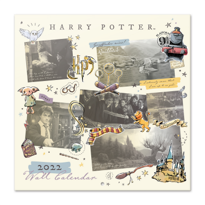 Harry potter magical moments calendrier 2022 30x30cm
