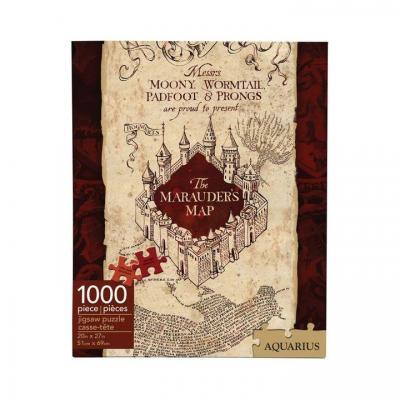 Harry potter marauder s map puzzle 1000p