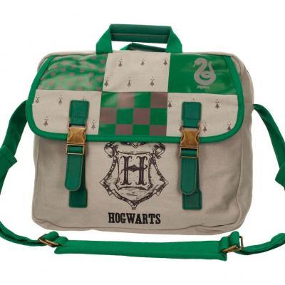 Harry potter messenger bag 35x30 slytherin