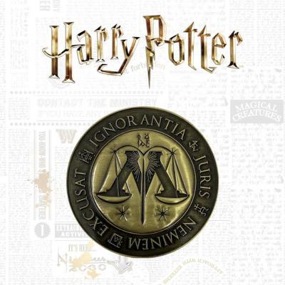 Harry potter ministere de la magie medaillon edition limitee