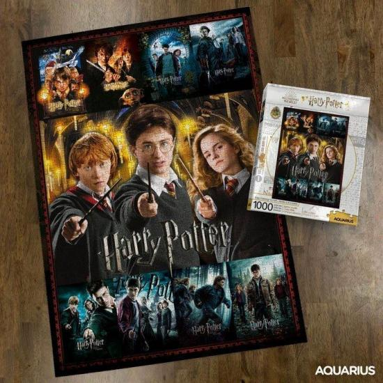 Harry potter movie collection puzzle 1000p