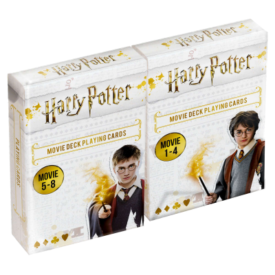 Harry potter movie deck playing cards duopack