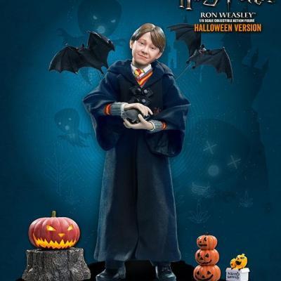 Harry potter movie figure 1 6eme ron weasley halloween limited 30cm