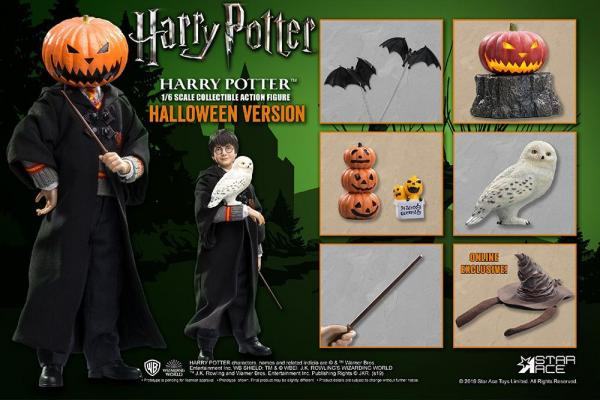 Harry potter movie figure 16eme harry potter halloween limited 30cm 2