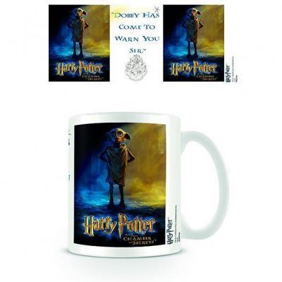 Harry potter mug 300 ml dobby warning