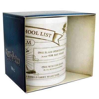 Harry potter mug 300 ml hogwarts school list uniform